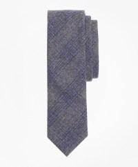 Tartan Wool Tie - Brooks Brothers