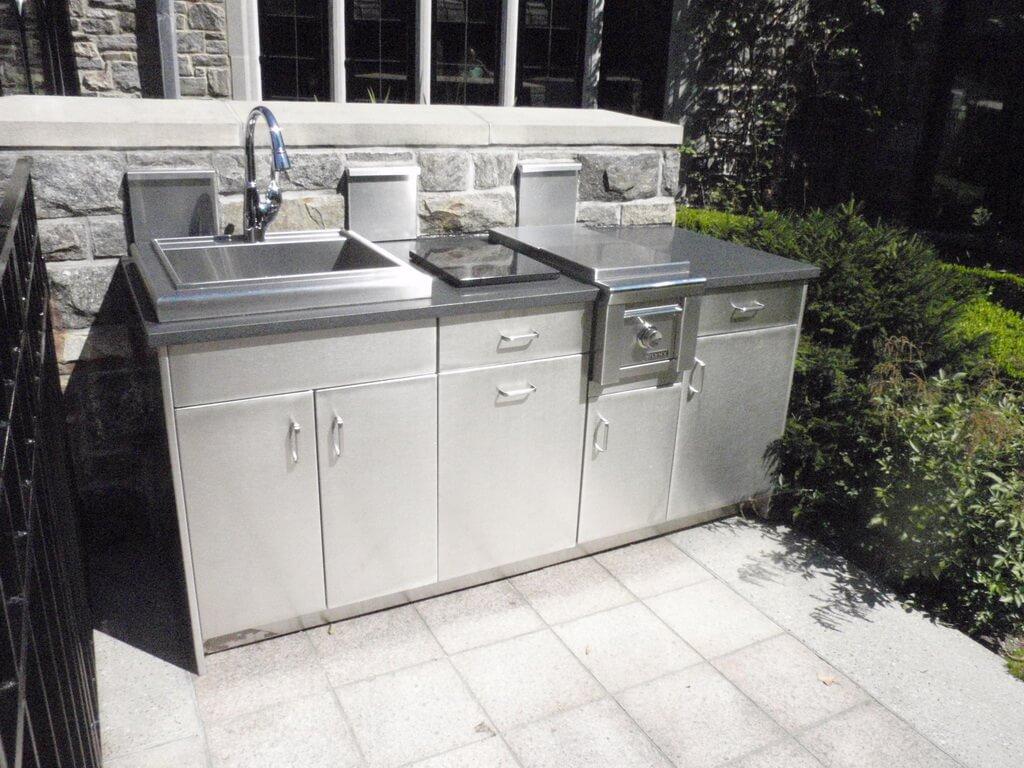 Stainless Steel Outdoor Countertops