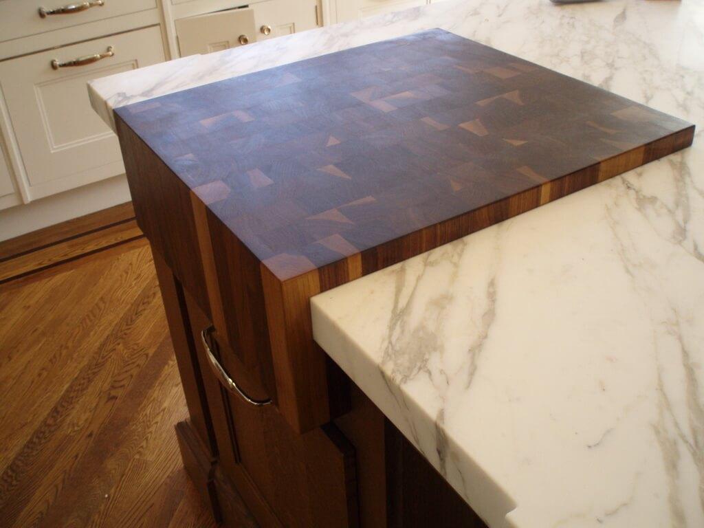 Walnut End Grain Cutting Board Wood Countertop