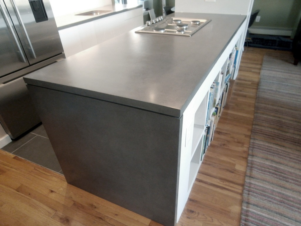 Waterfall Style Concrete Tops