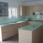 Backpainted Glass Countertops