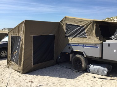 Eureka Broome Camper Trailer kids bedroom