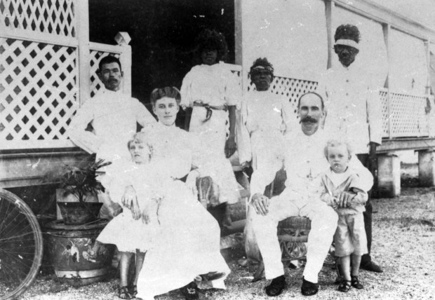 Blick family, Broome 1906