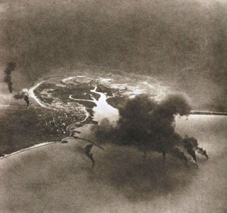 Bombing of dutch flying planes