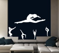 Set of gymnasts decals | Wall Stickers Store - UK shop ...