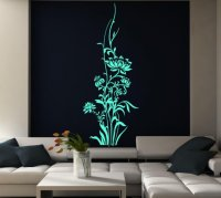 Giant Flowers - Colorful Wall Sticker | Wall Stickers ...