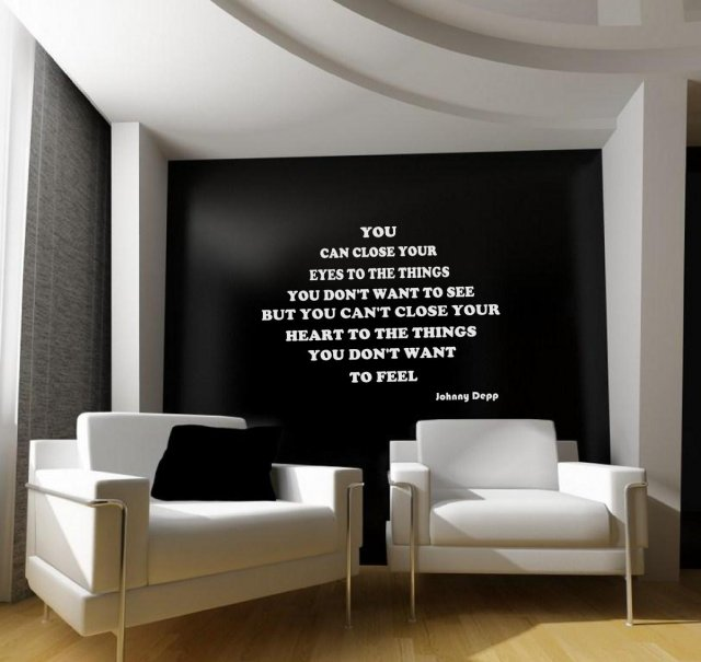 red teal yellow living room mint green decor jc design 'you can close your eyes...' johnny depp quote ...