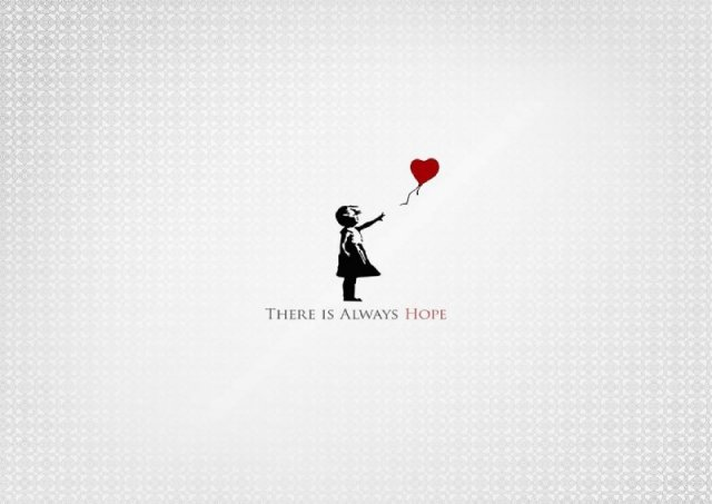 Banksy Balloon Girl Wallpaper Banksy There Is Always Hope Girl With Red Balloon Poster