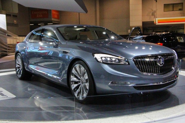 Garnering 2nd place among fans, the 4-door Buick Avenir could actually see production.