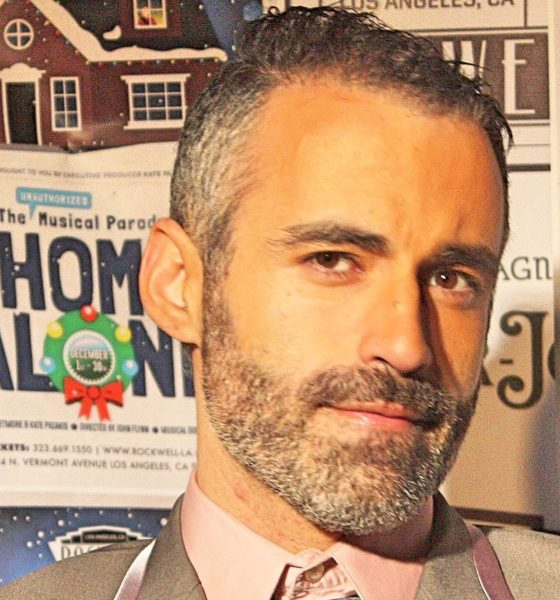 Alex Mohajer winner of 2018 NLGJA Excellence in Journalism Award