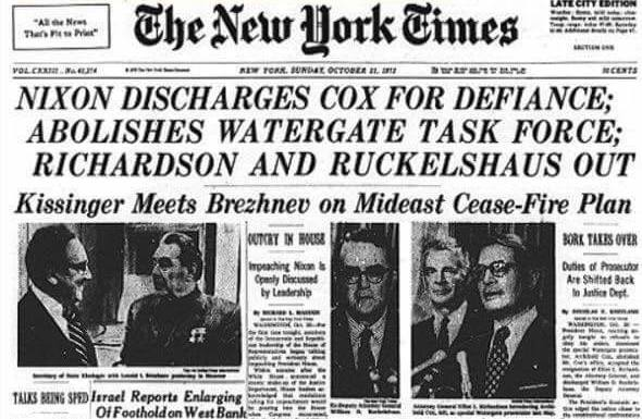 Trump/Russia A More Troubling Scandal than Watergate. Firing FBI Director James Comey Doesn't Help.