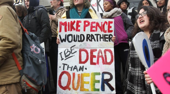 Protest Mike Pence California