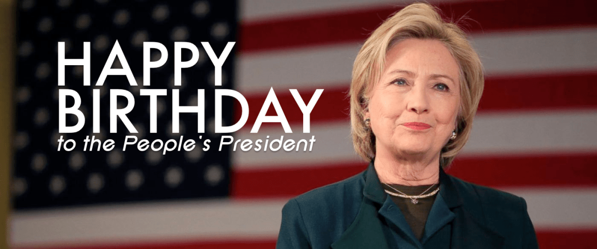 Happy 70th, HRC! The Top 10 Best Hillary Clinton Photos