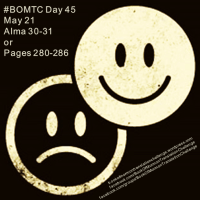 #BOMTC Day 45, May 21~Alma 30-31 or Pages 280-286: Are You a Puppet or an Instrument?