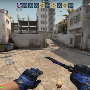 best gloves knife combo