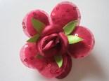 Bros Murah Kain Bunga Mawar Merah