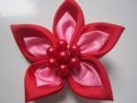 Bros Kain Cantik Bunga Rara Merah
