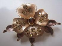 Bros Manik Cantik Bunga Jasmine Coklat