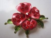 Bros Manik Cantik Bunga Jasmine Merah