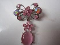 Bros Grosir Cantik Kupu-kupu Untai-Pink