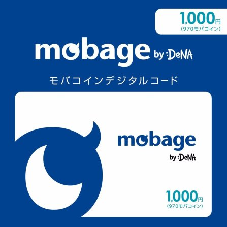Mobage Prepaid Card 1000 (970) Poin