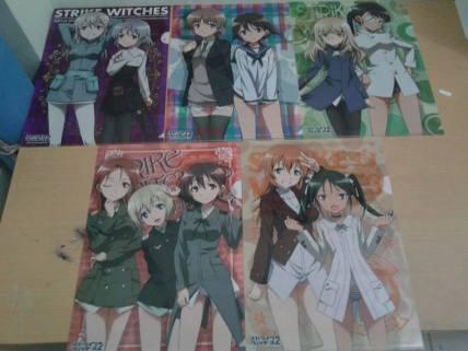 """Clearfile Strike Witches """"SEGA Ichiban-kuji Ver."""""""