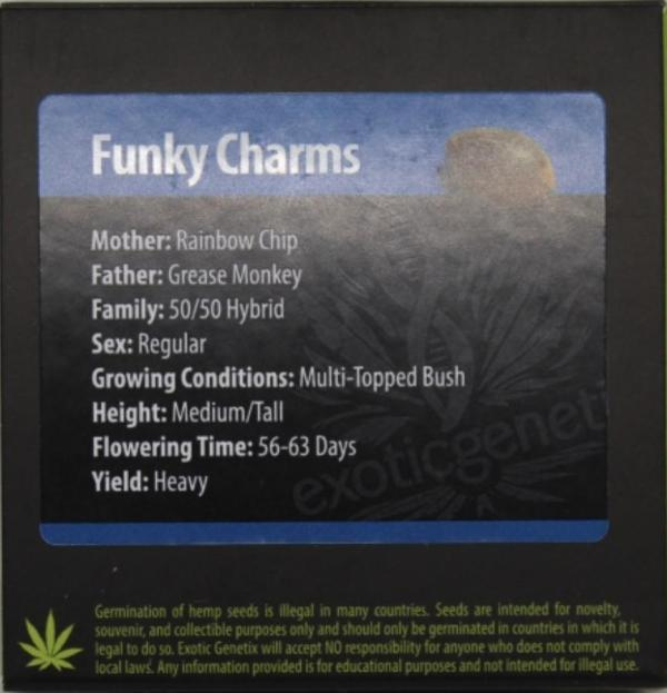 Exotic Genetix - Funky Charms (Reg M/F)