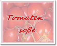 Etikett Tomatensoße