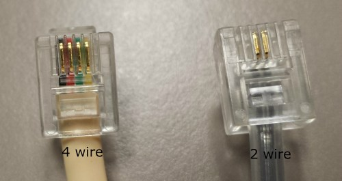 small resolution of if you are not using the cord that came with your machine please connect one end of the telephone cord to the brother machine s line jack and the other end