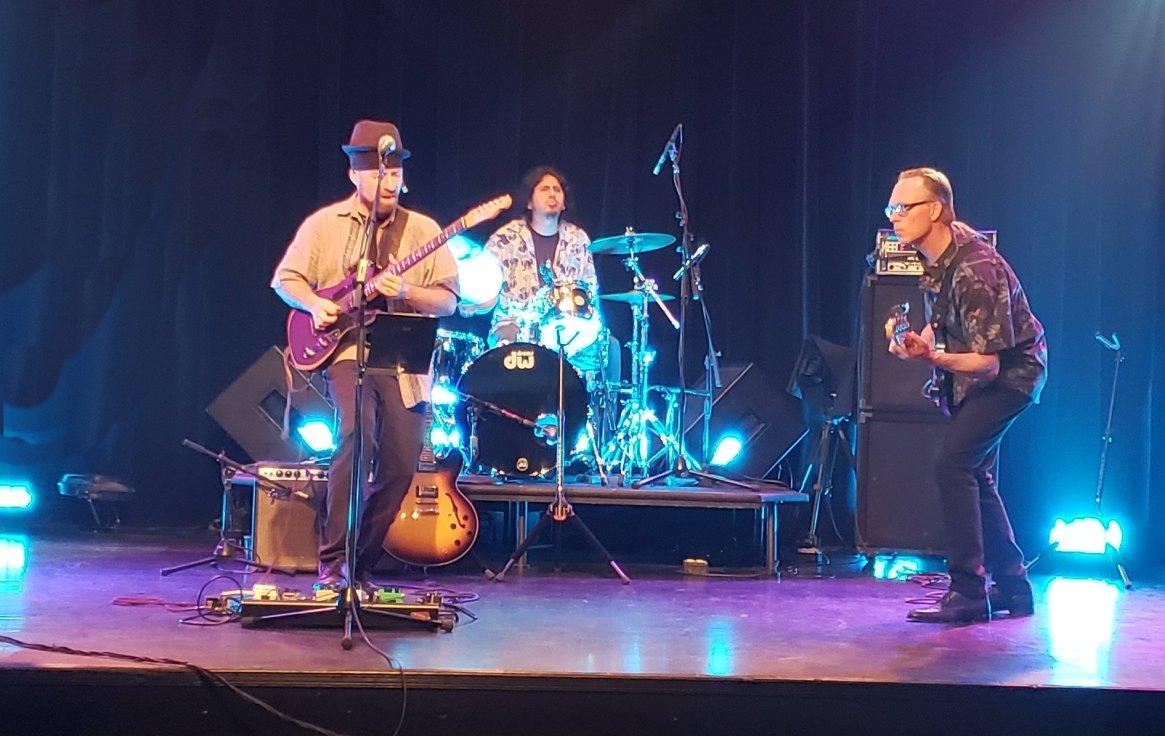 Bushwick Blooze Band in action!