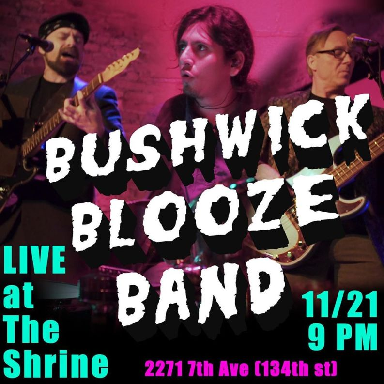 Promotional Poster for Bushwick Blooze Band