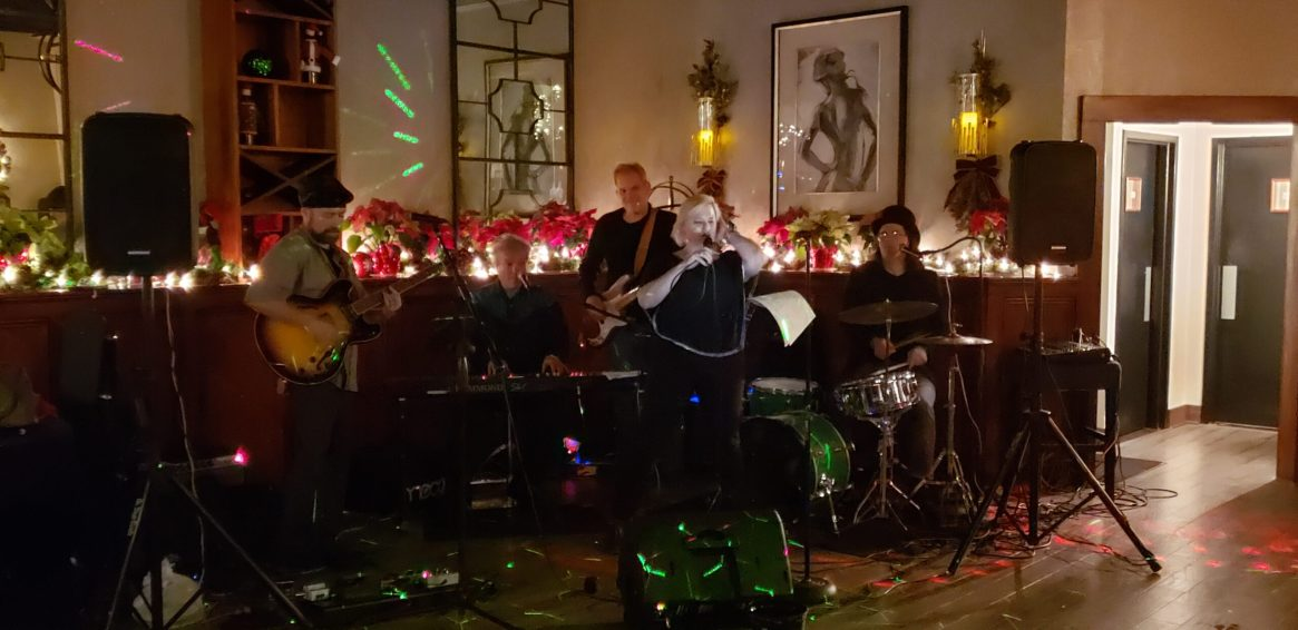 with Ian Petillo and The Pickled Peppers at Butterfield's featuring Pamela Betti on Vocals