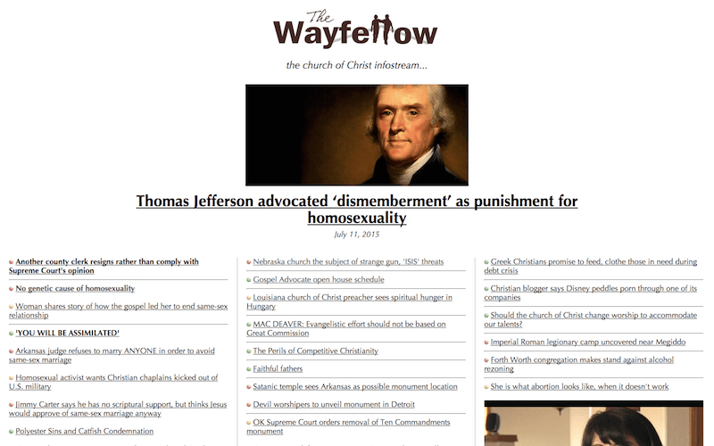 The WayFellow relaunches as church 'infostream'