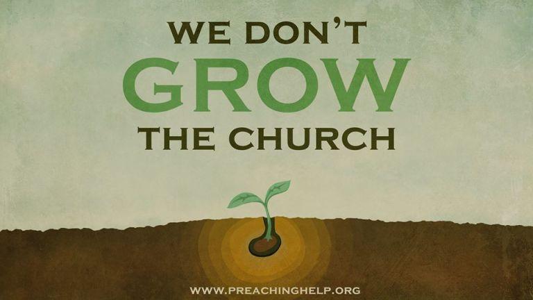 Gospel preacher objects to language 'grow the church'