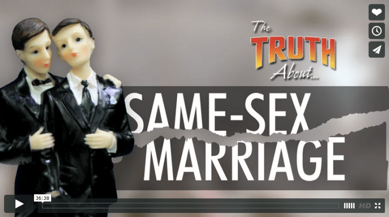 'The Truth About' series launches video on same-sex marriage