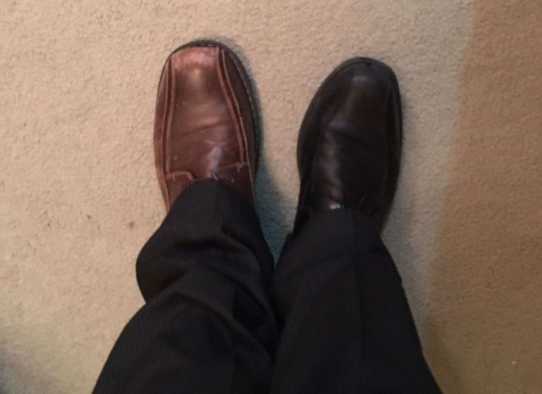 Preacher naps hard, dresses differently