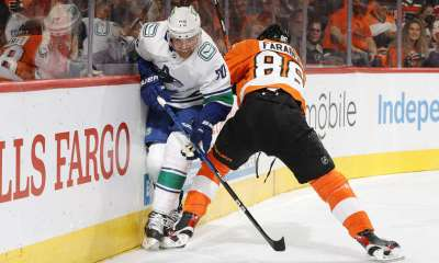 Canucks vs Flyers
