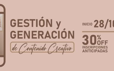 Gestión y Generación de Contenido Creativo | by Martina Rial