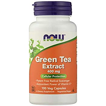 Green Tea Extract, 400 mg, 100 Capsules, Now Foods,