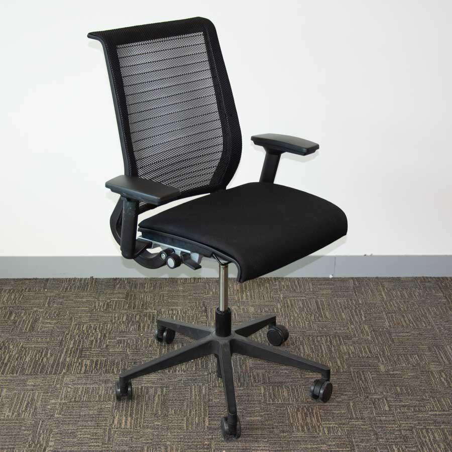 Steelcase Think Chair Steelcase Think Mesh Back Office Chair