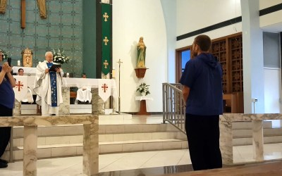 Brother Sean Took His Perpetual Vows on 22 Aug 2017