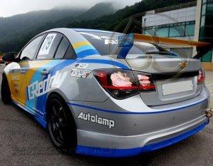 Задние светодиодные фонари для Chevrolet Cruze, стиль European Clear.