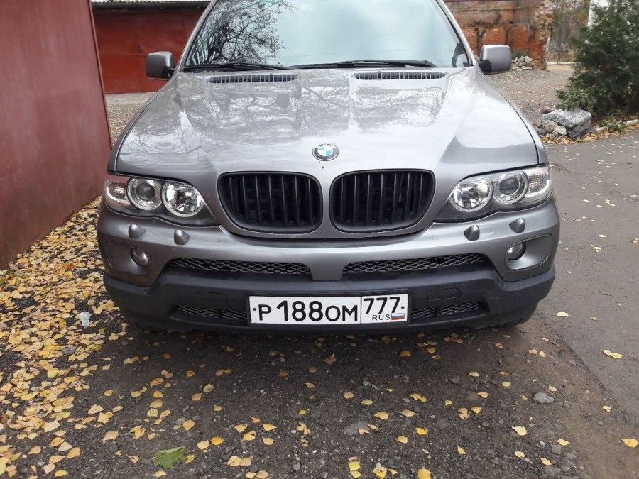 Восстановленная оптика BMW X5