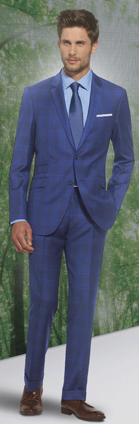 Award winning suits and clothing