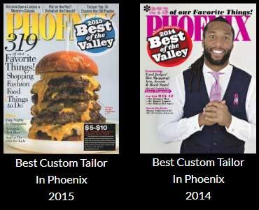 Best Tailor 2014 & 2015