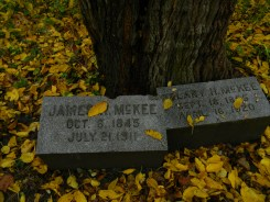 James and Delany McKee - Bachelor's Grove Cemetery