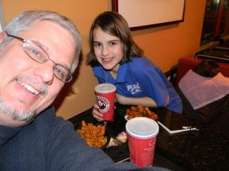 Molly takes me out to Panda Express - Tom 365 - February 22, 2012