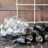 МК 3. Гирлянда из лампочек