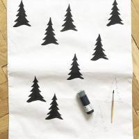 DIY. Декор бумажного мешка для игрушек