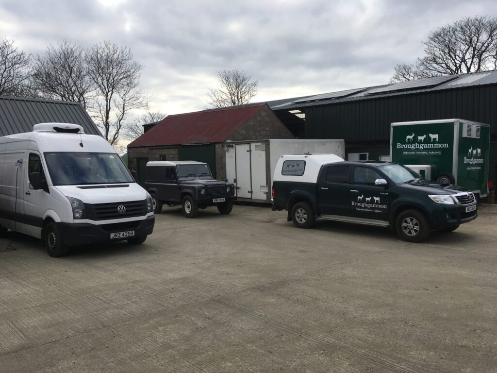 The Broughammon Fleet Getting Ready For Market